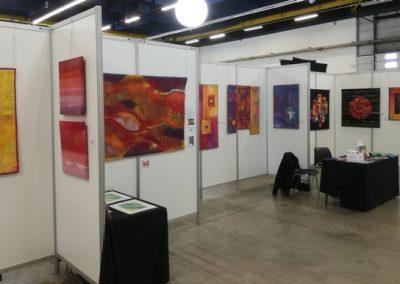 Biënnale Int d'Art Textile, Villefranche bij Lyon, FR, april 2018